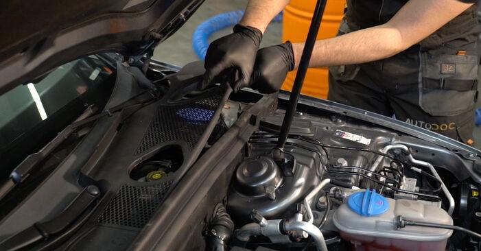 Wymień samodzielnie Amortyzator w AUDI A4 Sedan (8K2, B8) 3.0 TDI quattro 2010