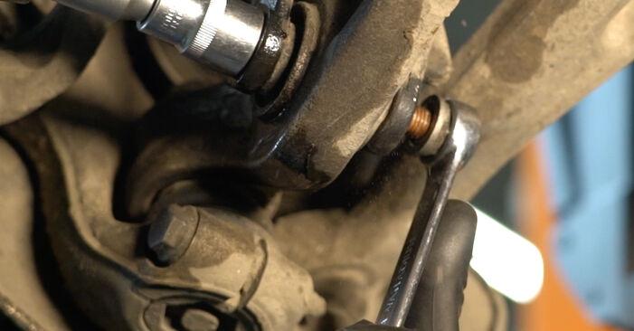 Austauschen Anleitung Stoßdämpfer am Audi A4 B8 Limousine 2008 2.0 TDI selbst