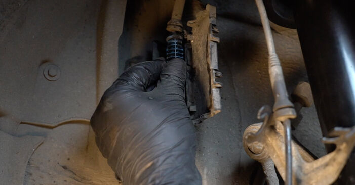 Changing of Shock Absorber on BMW E60 2009 won't be an issue if you follow this illustrated step-by-step guide