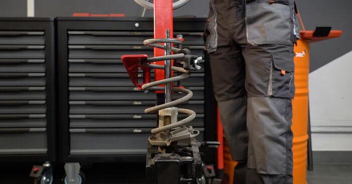 Zweckdienliche Tipps zum Austausch von Stoßdämpfer beim FORD Fiesta Mk6 Schrägheck (JA8, JR8) 1.6 TDCi 2008