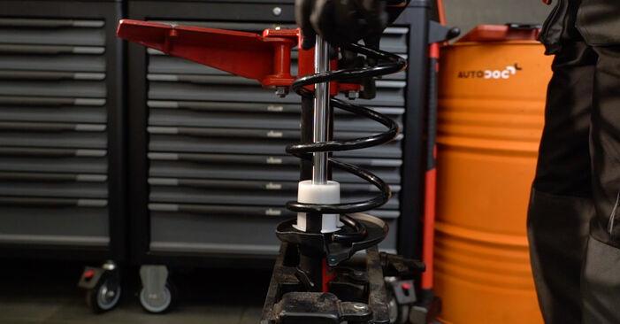 Stoßdämpfer Ford Fiesta ja8 1.6 TDCi 2010 wechseln: Kostenlose Reparaturhandbücher