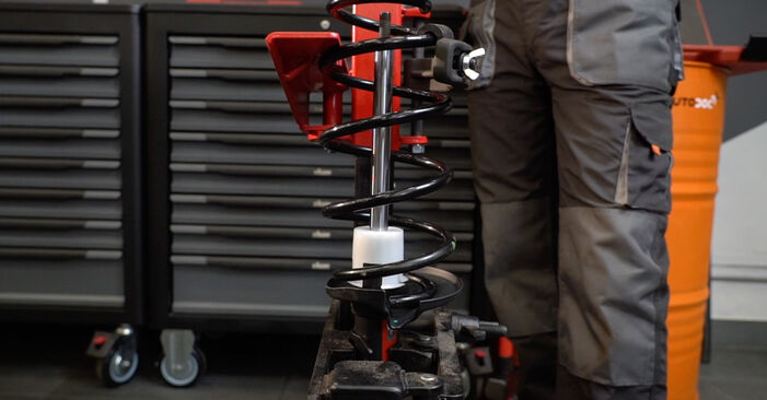 Wechseln Stoßdämpfer am FORD Fiesta Mk6 Schrägheck (JA8, JR8) 1.5 TDCi 2011 selber