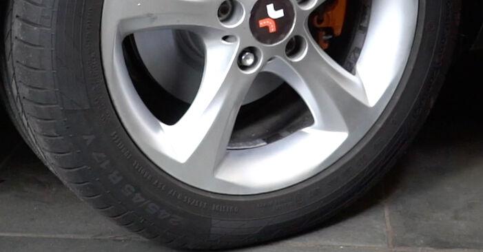 Så tar du bort BMW 1 SERIES 125i 3.0 2010 Stötdämpare – instruktioner som är enkla att följa online
