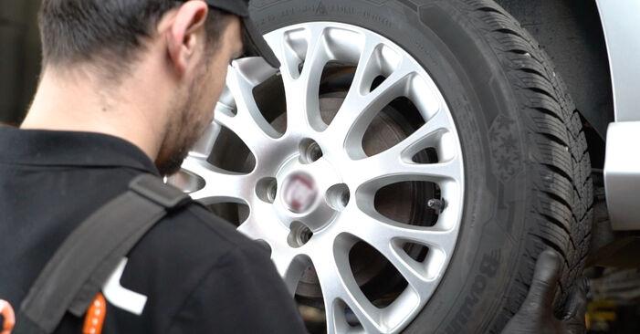 Quanto è difficile il fai da te: sostituzione Ammortizzatori su Fiat Punto 199 1.4 Natural Power 2014 - scarica la guida illustrata