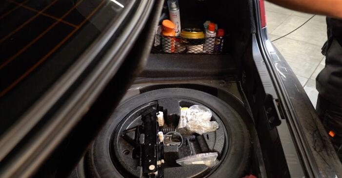 BMW E60 525d 2.5 2003 Blazilnik zamenjava: brezplačni priročnik delavnice