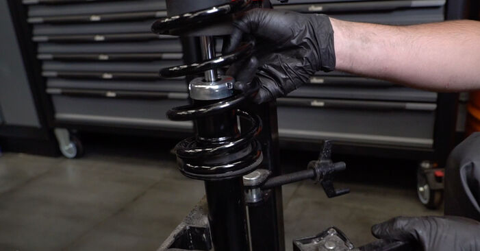 How to change Shock Absorber on BMW E60 2001 - free PDF and video manuals