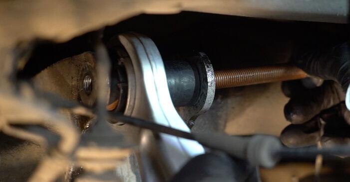 Kako dolgo traja menjava: Blazilnik na BMW E60 2009 - informativni PDF priročnik