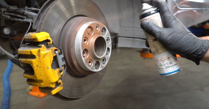 How hard is it to do yourself: Shock Absorber replacement on BMW E60 530i 3.0 2007 - download illustrated guide