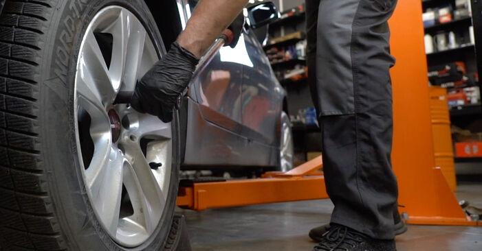 Kako zamenjati Blazilnik na BMW 5 Sedan (E60) 2006 - prenesite PDF priročnike in video navodila