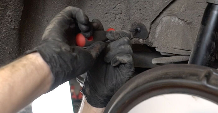 How to remove AUDI A3 1.6 2007 Shock Absorber - online easy-to-follow instructions