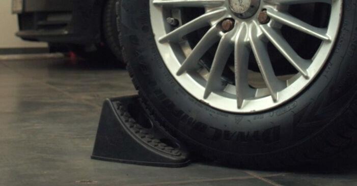 Wie Stoßdämpfer Ford Fiesta V jh jd 1.4 TDCi 2001 tauschen - Kostenlose PDF- und Videoanleitungen
