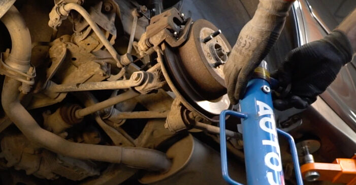 How to remove LEXUS RX 3.5 2007 Shock Absorber - online easy-to-follow instructions