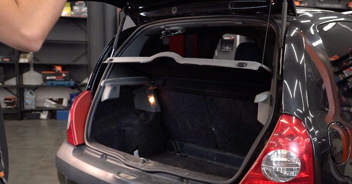 Wie Stoßdämpfer Renault Clio 2 1.2 1998 tauschen - Kostenlose PDF- und Videoanleitungen