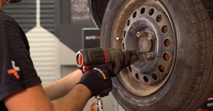 Stoßdämpfer beim RENAULT CLIO 1.9 D 2005 selber erneuern - DIY-Manual