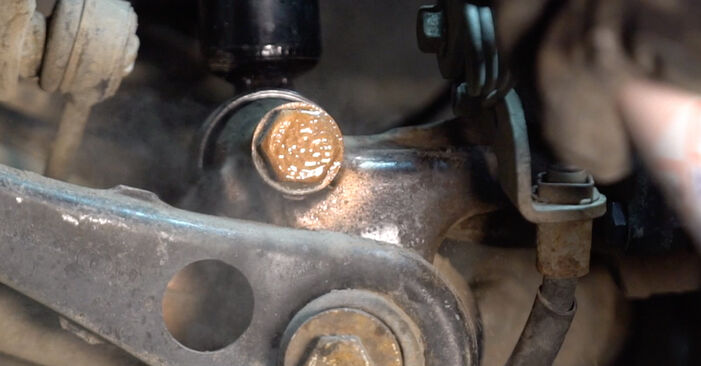 How to remove AUDI A4 2.5 TDI 2004 Shock Absorber - online easy-to-follow instructions