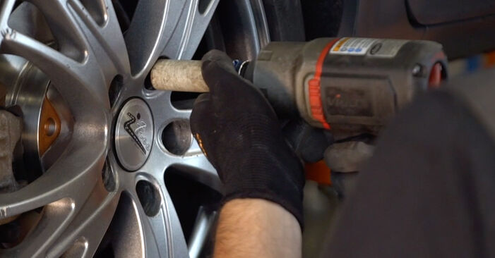 Changing of Shock Absorber on Audi A4 B6 Avant 2003 won't be an issue if you follow this illustrated step-by-step guide