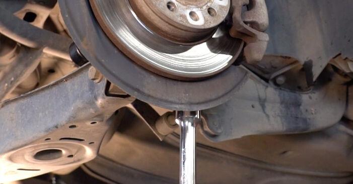 Stoßdämpfer Touran 1t1 1t2 2.0 TDI 2005 wechseln: Kostenlose Reparaturhandbücher