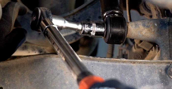 Wechseln Stoßdämpfer am VW TOURAN (1T1, 1T2) 1.4 TSI 2006 selber