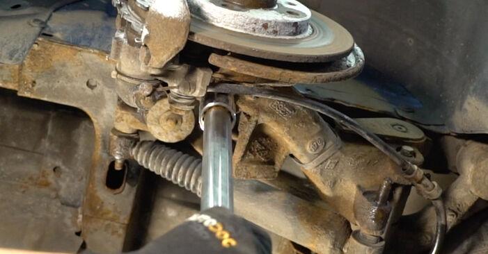 Jak dlouho trvá výměna: Tlumic perovani na autě Peugeot 206 cc 2d 2008 - informační PDF návod