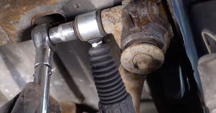 Jak vyměnit Tlumic perovani na Peugeot 206 cc 2d 2000 - bezplatné PDF a video návody
