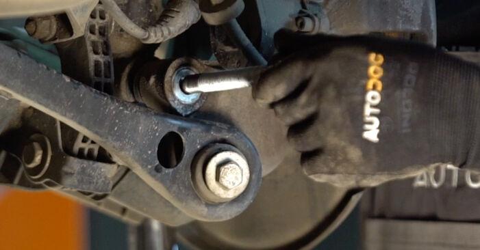 Svojpomocná výmena Tlmič pruzenia na aute Audi A6 4f2 2006 3.0 TDI quattro