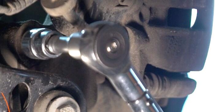 A6 Sedan (4F2, C6) 2.0 TFSI 2007 Tlmič pruzenia svojpomocná výmena vďaka návodu z našej dielne