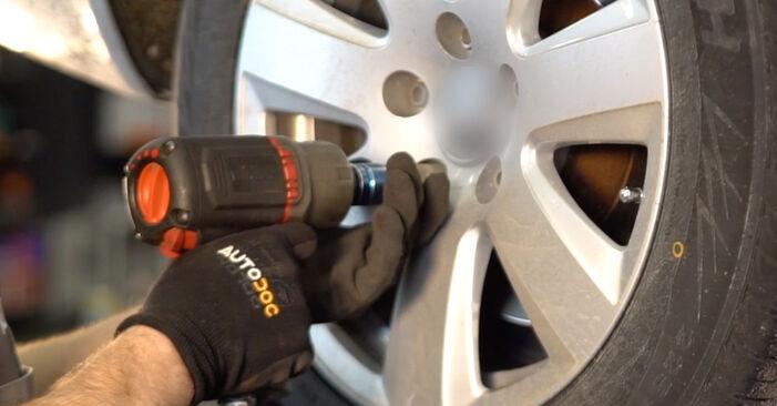Wechseln Stoßdämpfer am AUDI A6 Limousine (4F2, C6) 2.7 TDI 2007 selber