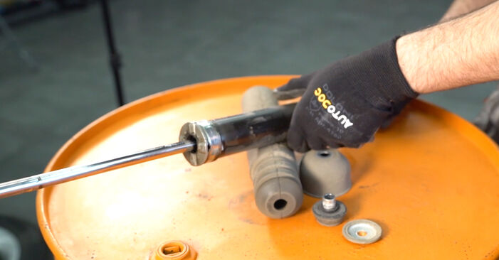 DIY replacement of Shock Absorber on NISSAN LEAF Elektrik 2012 is not an issue anymore with our step-by-step tutorial