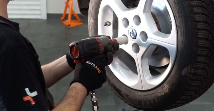 How to change Shock Absorber on NISSAN LEAF 2010 - tips and tricks