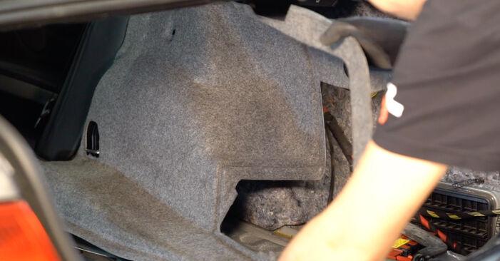 3 купе (E92) 325i 2.5 2007 Амортисьор наръчник за самостоятелна смяна от производителя