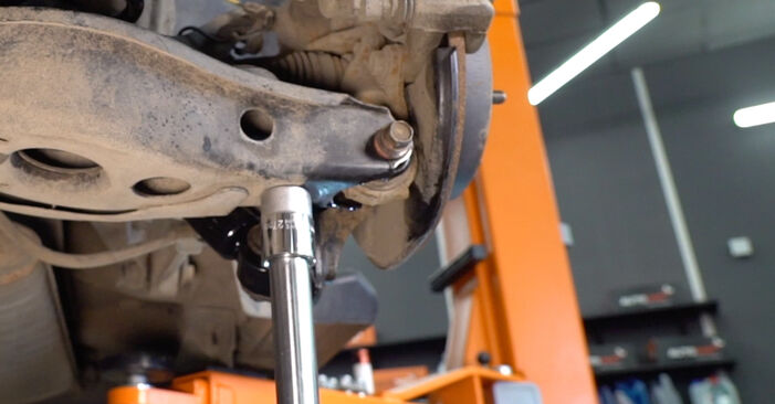 How to remove TOYOTA RAV4 2.0 (ZSA35_) 2009 Shock Absorber - online easy-to-follow instructions