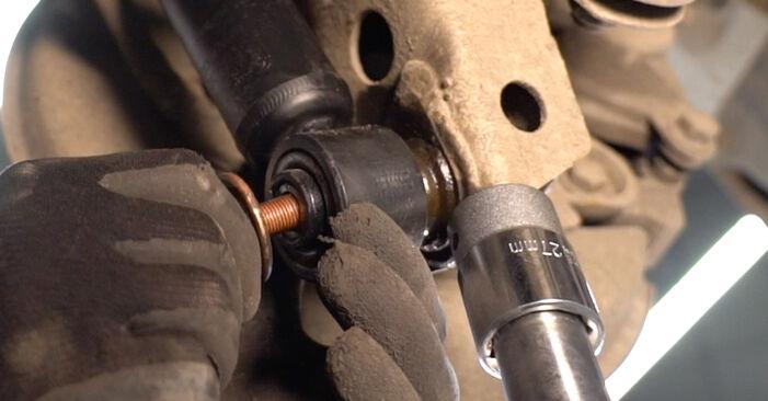 Trinn-for-trinn anbefalinger for hvordan du kan bytte Toyota Prado J120 2006 3.0 D-4D Støtdemper selv