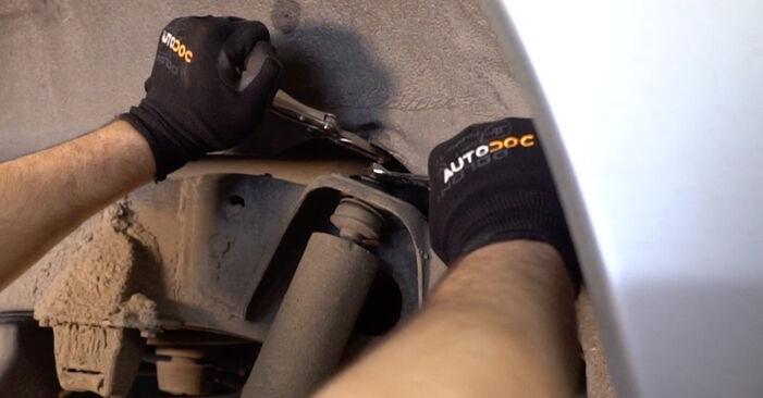 Vanskelighetsgrad: Bytte av Støtdemper på Toyota Prado J120 3.0 D 2008 – last ned illustrert veiledning