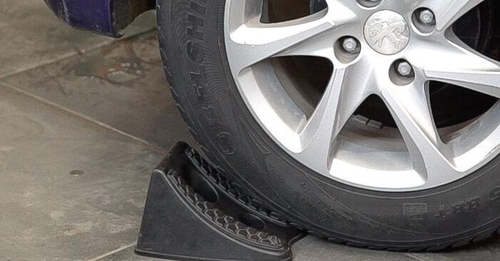 Comment changer Amortisseurs sur Peugeot 208 1 2012 - Manuels PDF et vidéo gratuits