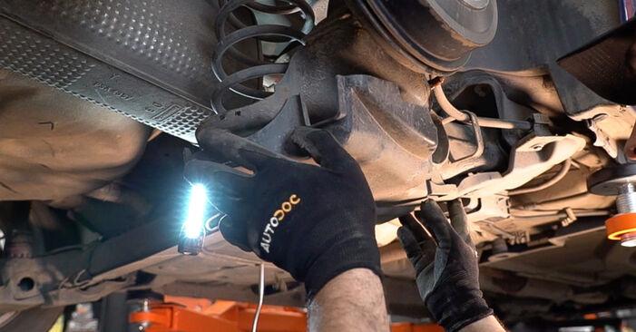 208 I 3/5 portes (CA_, CC_) 1.0 2013 Amortisseurs manuel d'atelier pour remplacer soi-même