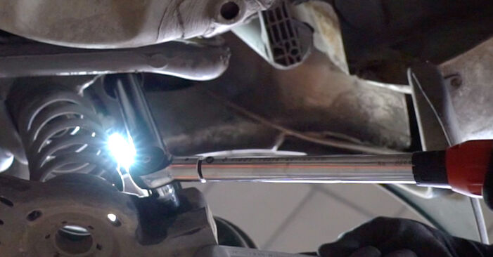 Fabia I Combi (6Y5) 1.4 TDI 2000 Shock Absorber DIY replacement workshop manual