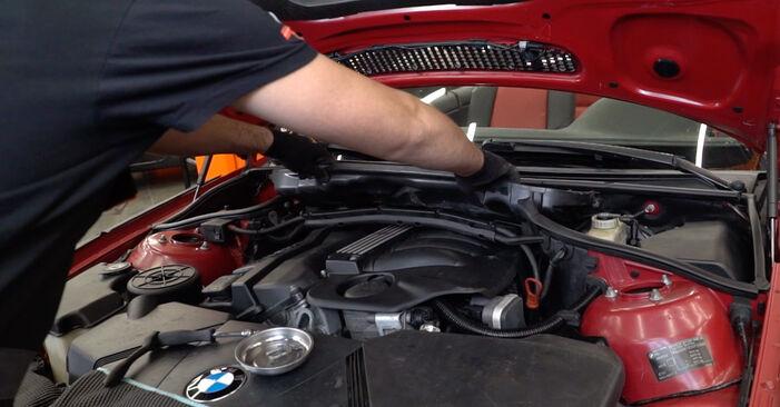 BMW 3 SERIES 330Ci 3.0 Salona filtrs nomaiņa: tiešsaistes ceļveži un video pamācības