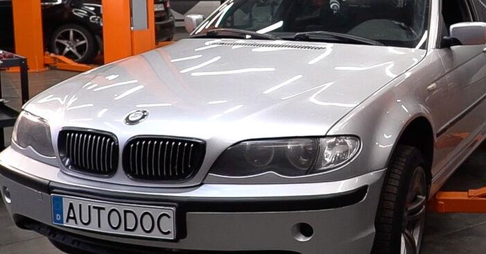 Önálló BMW 3 Touring (E46) 318i 2.0 2001 Levegőszűrő csere