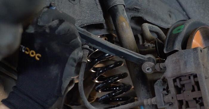 Austauschen Anleitung Koppelstange am Mercedes W210 1996 E 300 3.0 Turbo Diesel (210.025) selbst