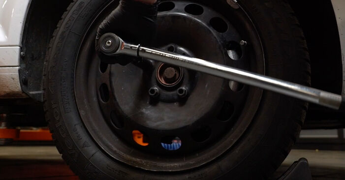How to remove AUDI A3 1.6 2007 Anti Roll Bar Links - online easy-to-follow instructions