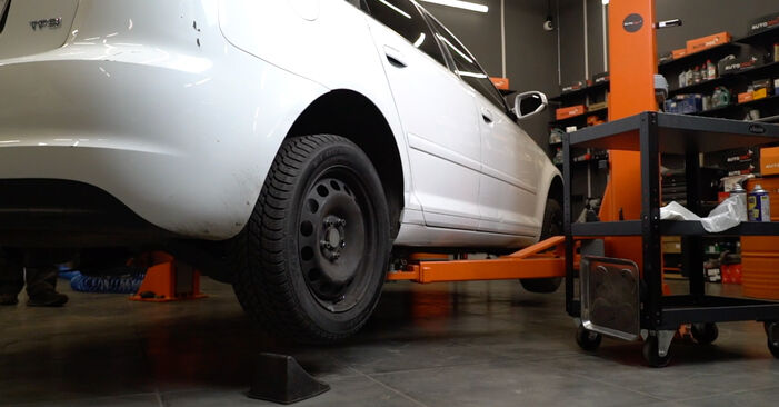 Koppelstange Audi A3 8pa 2.0 TDI 2005 wechseln: Kostenlose Reparaturhandbücher