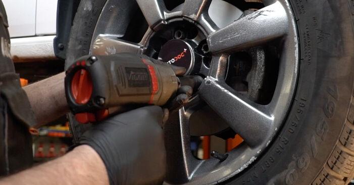 Koppelstange VW Polo 5 Limousine 1.2 TDI 2011 wechseln: Kostenlose Reparaturhandbücher