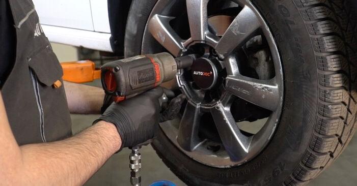 Wechseln Koppelstange am VW Polo Limousine (602, 604, 612, 614) 1.2 TSI 2012 selber