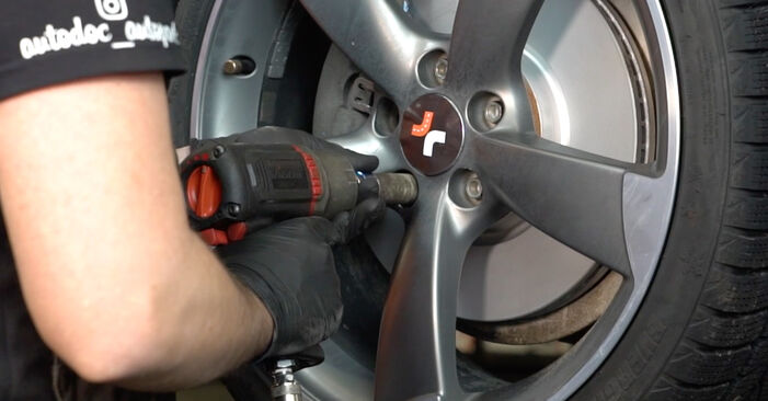 How to remove AUDI A4 S4 3.0 quattro 2011 Anti Roll Bar Links - online easy-to-follow instructions
