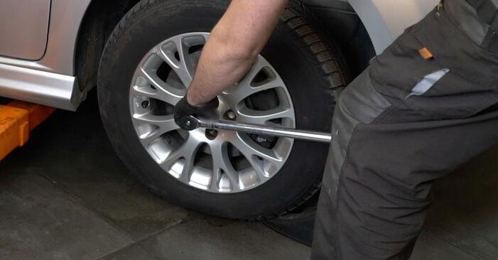Modifica Biellette Barra Stabilizzatrice su FIAT GRANDE PUNTO (199) 1.4 16V 2011 da solo