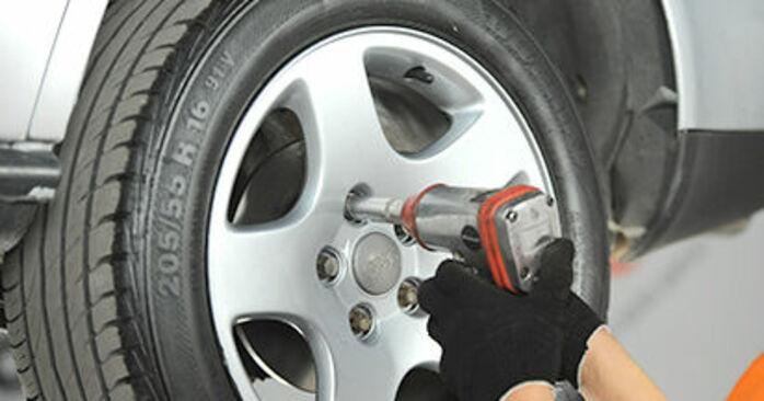 Comment changer Plaquettes de Frein sur Audi A4 B5 1994 - Manuels PDF et vidéo gratuits