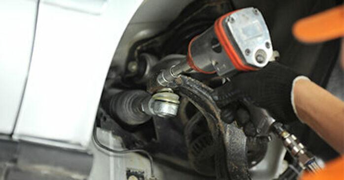 A4 Limousine (8D2, B5) 1.8 T quattro 1997 1.9 TDI Spurstangenkopf - Handbuch zum Wechsel und der Reparatur eigenständig