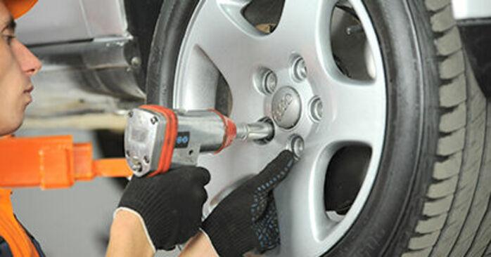 Zweckdienliche Tipps zum Austausch von Spurstangenkopf beim AUDI A4 Limousine (8D2, B5) 1.8 2000