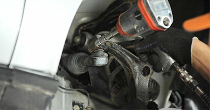 Wie AUDI A4 1.8 T quattro 1998 Spurstangenkopf ausbauen - Einfach zu verstehende Anleitungen online
