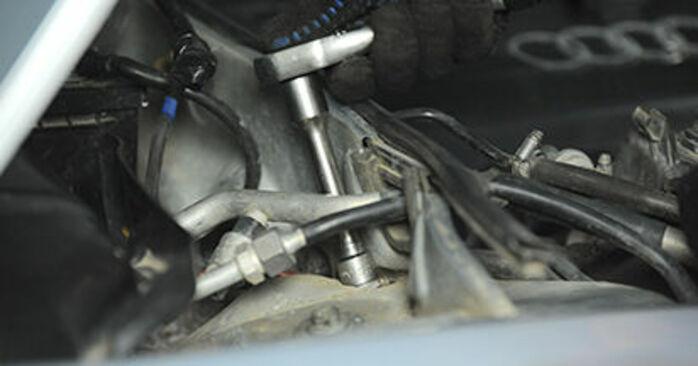 Domlager Ihres Audi A4 B5 1.6 1994 selbst Wechsel - Gratis Tutorial